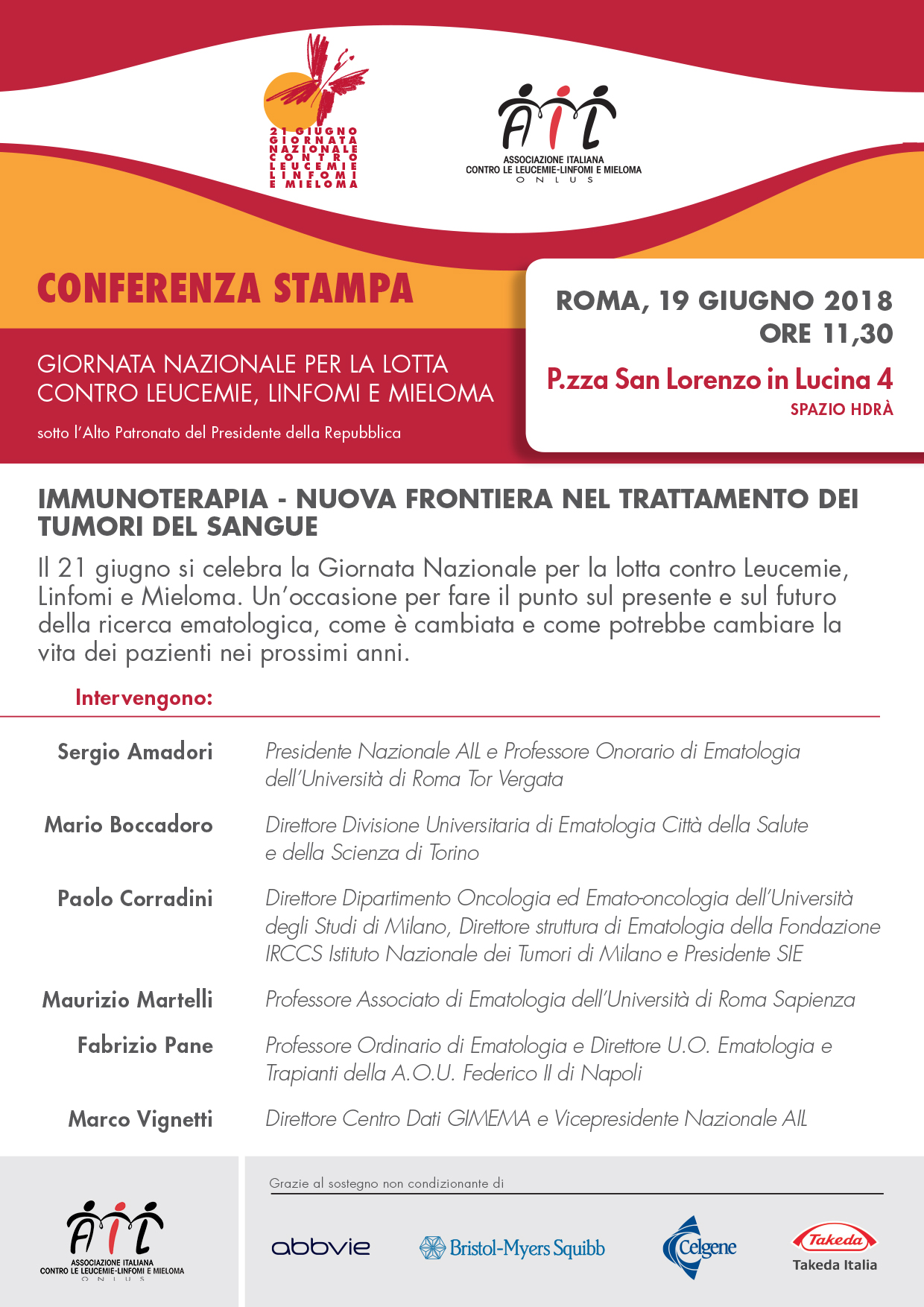 Conferenza Stampa GN 2018